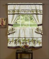 Modern Kitchen Curtains And Valances by Kitchen Target Blackout Curtains Walmart Kitchen Curtains