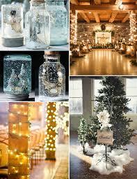 Christmas Wedding Decor - fabulous 2015 christmas wedding ideas and invitations