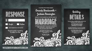 Chalkboard Wedding Program Wedding Programs Vintage Rustic Wedding Invitations