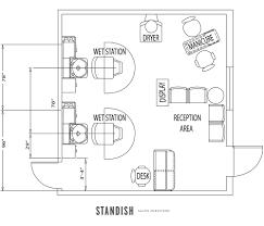 simple hair salon floor plans u2013 home interior plans ideas