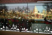 Christmas Decoration For Glass Door by Popular Glass Window Panel Buy Cheap Glass Window Panel Lots From