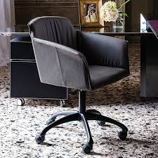 Armchair With Wheels Tyler Wheels Armchair Home Office Chairs Office Cattelan