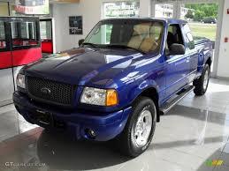 Ford Ranger Truck Colors - 2003 sonic blue metallic ford ranger edge supercab 4x4 31851434