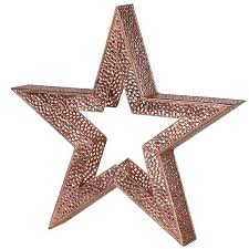 star shaped tea lights large copper star shaped tea light and candle holder we absolutely