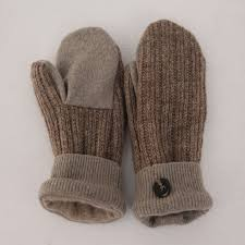 sweater mittens lined upcycled wool sweater mittens woolly pedlar
