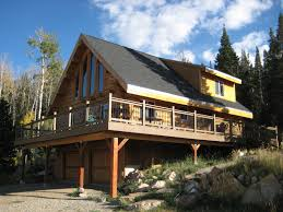 kit homes new mexico custom log homes in pagosa springs ute country homes