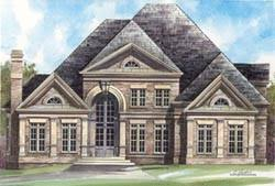 Georgian Style Home Plans Georgian House Plans Monster House Plans