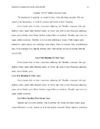 term paper front page format the top 10 best blogs on sample apa research paper title page
