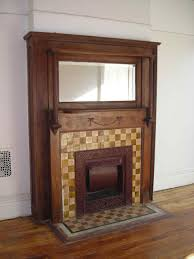 english carved fireplace mantel and overmantel model marble