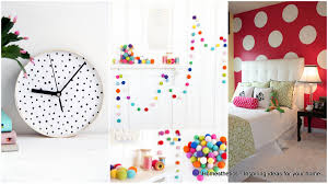 how to have fun with polka dot decor homesthetics inspiring