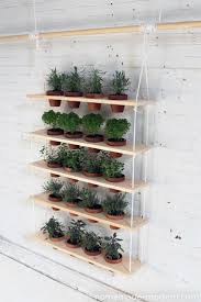 hanging garden diy homemade modern nwfgs best cool containers
