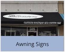 Awning Signs Exterior Building Outdoor Business Signs U0026 Lighted Outdoor Signs