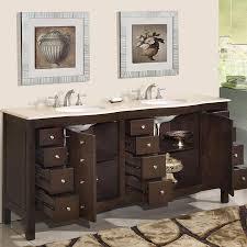 72 perfecta pa 5126 bathroom vanity double sink cabinet dark