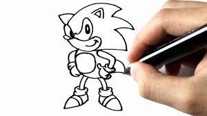 comment dessiner sonic youtube