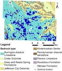missouri map data geological map of greene county missouri esri data source