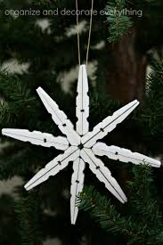 clothespin snowflake ornament tutorial u create
