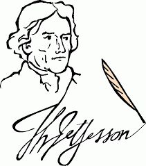 thomas jefferson coloring page eson me