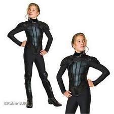 Hunger Games Halloween Costumes Katniss Deluxe Girls Hunger Games Katniss Everdeen Rebel Fancy Dress