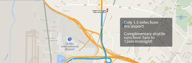 Iad Airport Map Hotels Near Sterling Va Directions To Comfort Inn U0026 Suites
