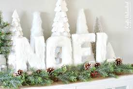 decorative crafts for home diy noel holiday letter decor crafts unleashed