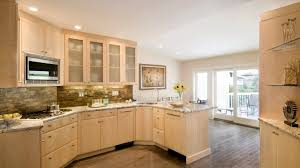 Kitchens With Light Cabinets Kitchen Charming Natural Maple Kitchen Cabinets Granite Natural