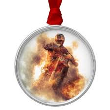 mens motocross ornaments keepsake ornaments zazzle