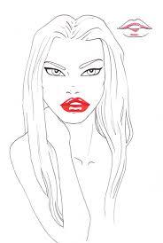 how to draw lips i draw fashion