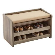 Entryway Storage Shelf by Decorating Rustic Driftwood Mercer Entryway Storage Bench With