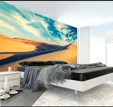 aliexpress com buy natural 3d mural wallpaper desert view golden aliexpress com buy natural 3d mural wallpaper desert view golden sand animation photo prints on embossed wall paper 3d room wallpaper mural rolls from