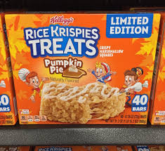 rice crispy treat pumpkins spooned spotted pumpkin pie rice krispies treats
