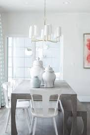Casual Dining Room Lighting by Dining Room Wallpaper Distressed White Dining Table Grey And White