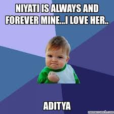 I Love Her Meme - is always and forever mine i love her