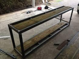 meuble derriere canapé arti biz entreprise locale création de mobilier de style industriel