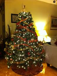 decoration delightful christmas tree in living room fabulous