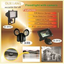 Motion Light With Camera Motion Activated Security Light Camera In Led Floodlight Motion
