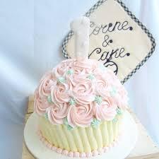 giant cupcake smash cake u2013 corine and cake