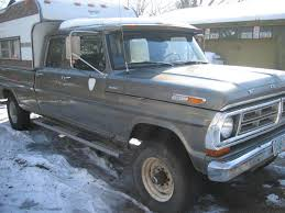 1972 ford f250 cer special 72 f250 custom cer special crew cab has a cool semi overcab