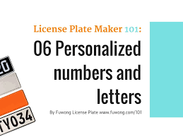 Vanity Number Generator 8 Personalized License Plate Ideas You Can Use Right Now