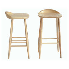 bar stools cherry finished oak counter stool base which combined