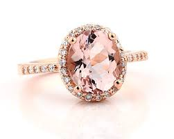 gold and morganite ring floral morganite engagement ring in 14k gold pebble 14k