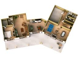 3d rendering house plans 3d floor plan rendering house plan