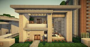 compact modern minecraft house pinterest small plans