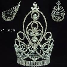 tiaras for sale fashion metal silver plating beauty pageant rhinestone