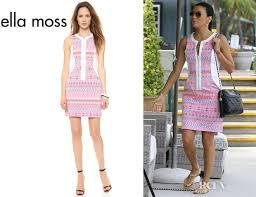 ella moss longoria s ella moss paz mini dress carpet fashion awards
