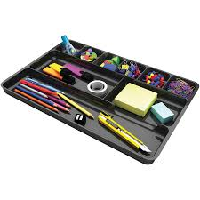 deflecto Plastic Desk Drawer Organizer  ICC Business Products
