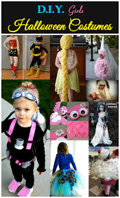d i y girls halloween costumes crafty family