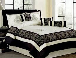 86 X 86 Comforter Total Fab Black And Ivory Comforter U0026 Bedding Sets