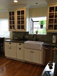 beech kitchen cabinets cream colored beech shaker kitchen cabinets