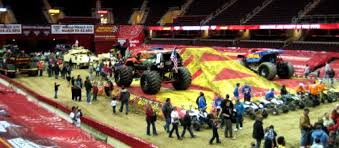 cleveland monster jam show pit party review promo codes