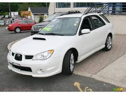 subaru sedan white 2007 subaru impreza wrx automatic related infomation